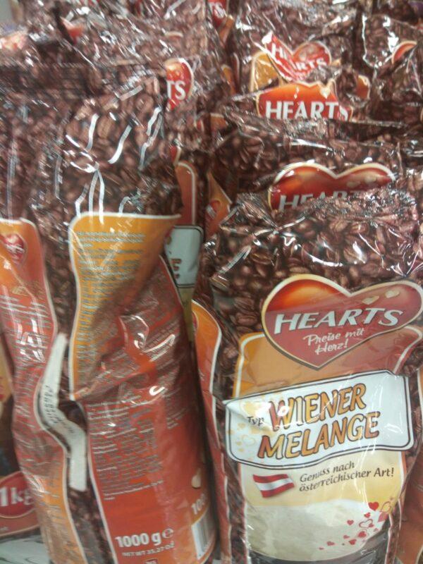 Капуччино Hearts Capuccino Melange 1 кг