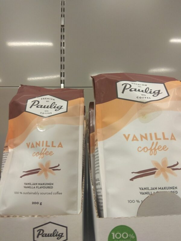 Кофе с ванилью Paulig 200г