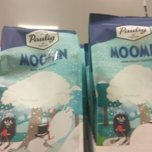 Кофе Paulig Moomin сильной обжарки 200г