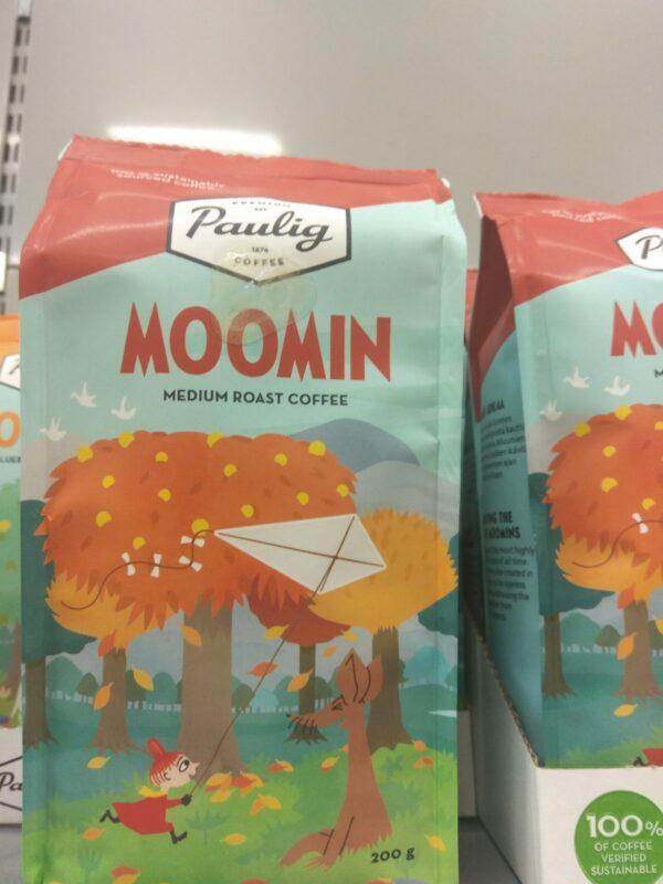 Кофе Paulig Moomin Средней обжарки 200г