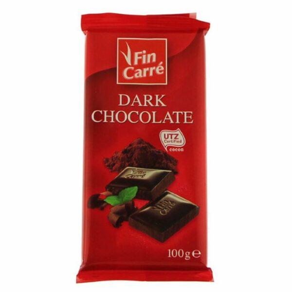 Шоколад темный (черный) Finn Carre 100 г