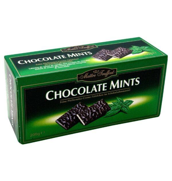 Шоколад с ментолом 200 гр.