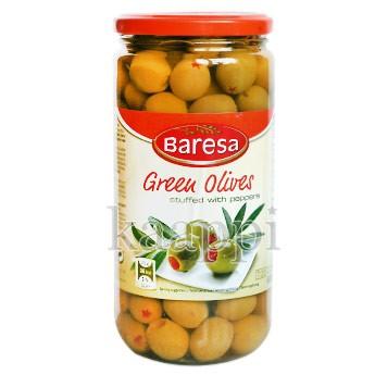 Оливки с перцем 680 гр.