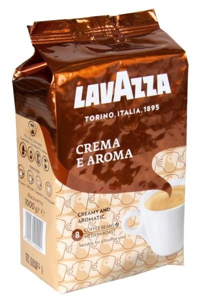 Кофе Лаваза крема Арома с 1 кг.