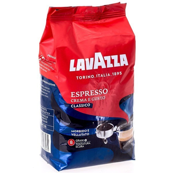 Кофе Лаваза Крема густо 1 кг.