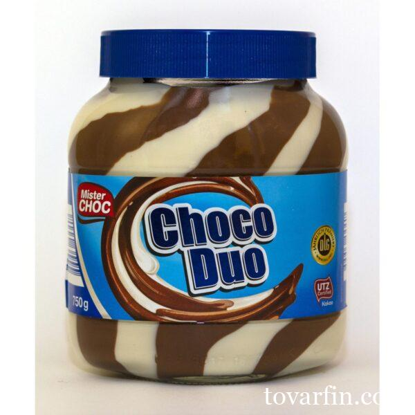 Шоколадная паста Choco Duo 750г