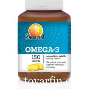 Витамины Sanasol Omega 3 150 шт