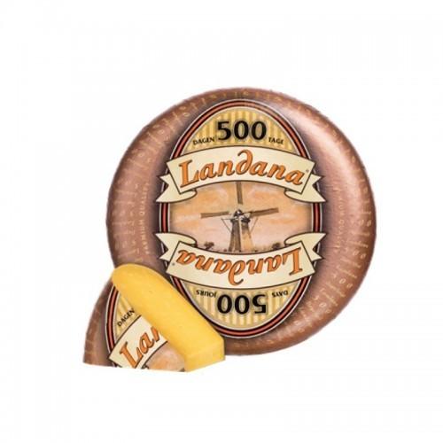 Сыр Ландана Гауда 500 дней, 48%, Landana Цена за 100г