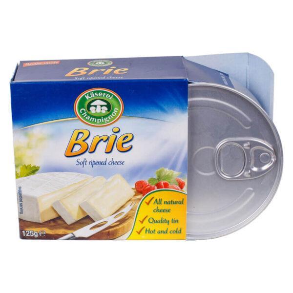 Сыр бри Казерай Kaserei Brie с белой плесенью, 125 г