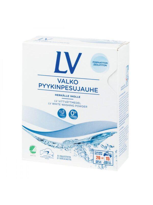 LV Концентрированный стиральный порошок для белого белья