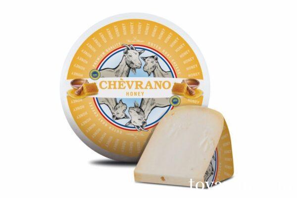 Сыр козий Шеврано с медом Цена за 100г