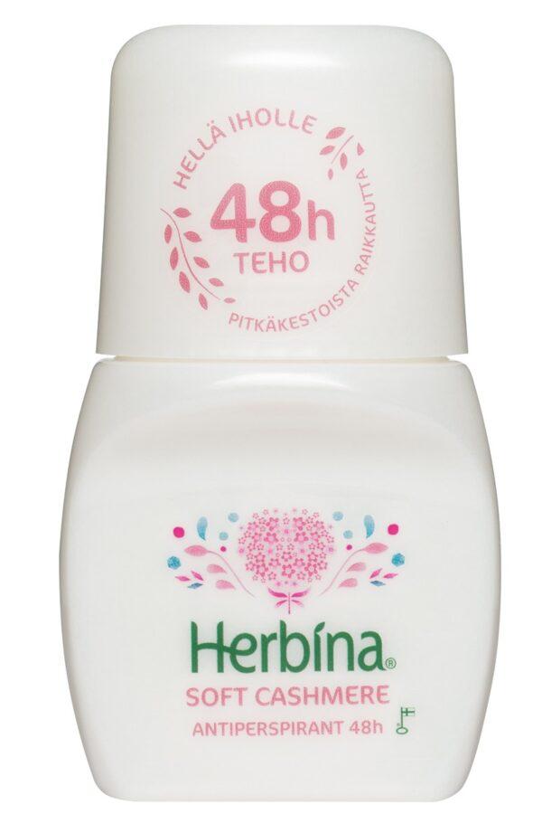 Herbina шариковый антиперспирант Кашемир 48ч