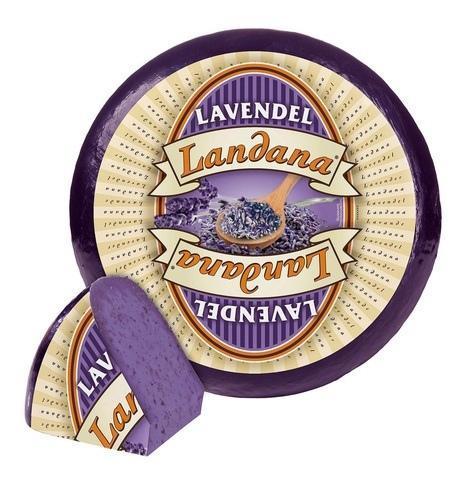 Сыр Ландана Лаванда Landana  Lavandel Голландия Цена за 100г