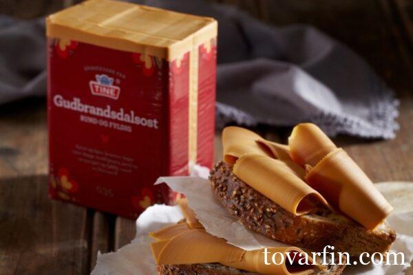 Гудбрандсдален Брюност Норвежский сыр 29% 1 кг