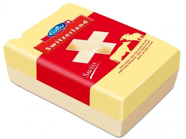 Сыр полутвердый Emmi Швейцарский 45% Цена за 100г