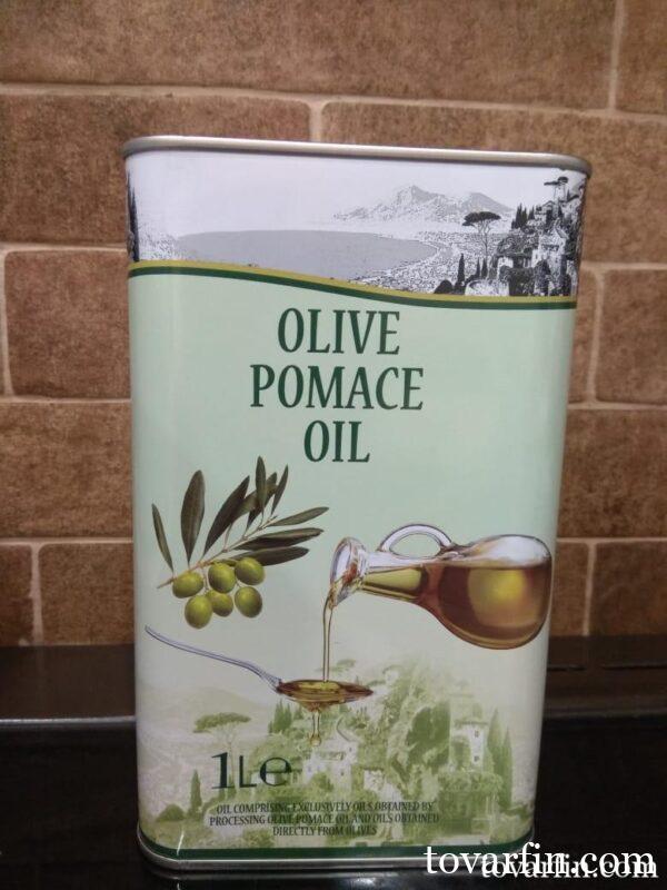 Масло оливковое для жарки Pomace 1л