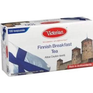 Чёрный чай Victorian Finnish Breakfast Tea 100 пак