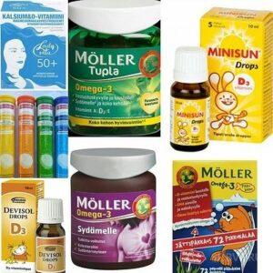 Аптека, витамины и БАДы под заказ