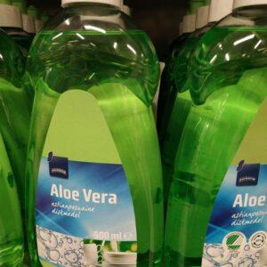 Средство для мытья посуды Алоэ Вера Rainbow 500мл