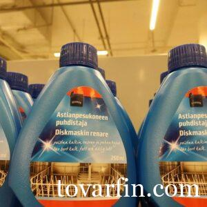 Средство чистящее для мытья посудомоечной машины Rainbow 250мл