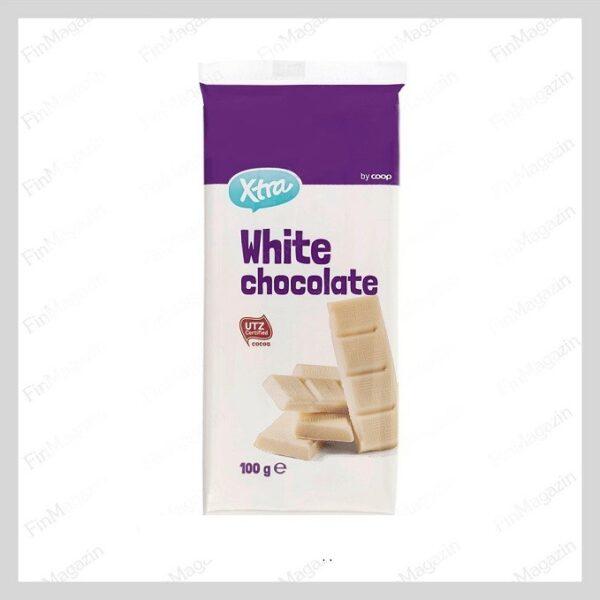 XTRA Шоколад белый 100г