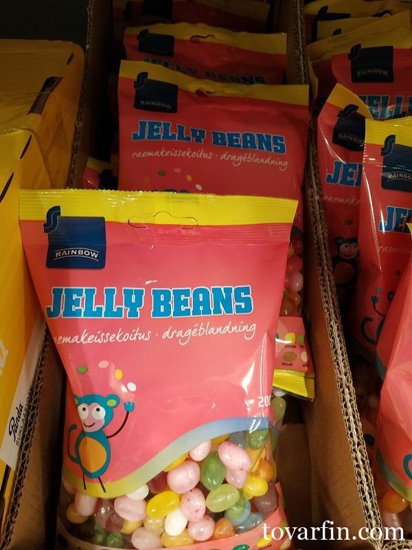 Желейные бобы Jelly beans 200г Rainbow