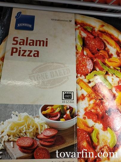 Rainbow Пицца с Салями 345г