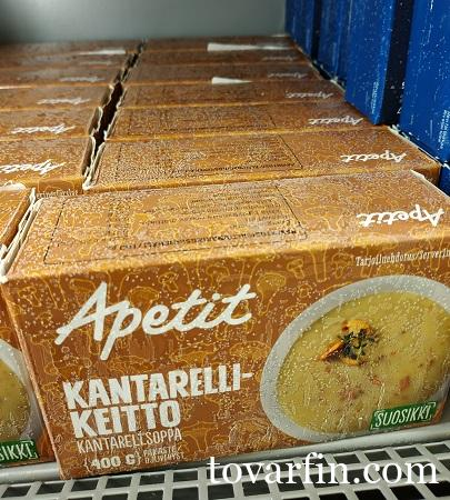 Суп из лисичек Apetit 400г