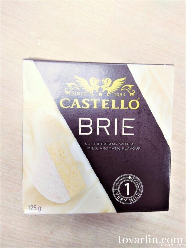 Сыр мягкий Castello Brie с белой плесенью 50% 125 г