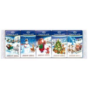 Молочный шоколад рождественский Only 5Х15 ГР
