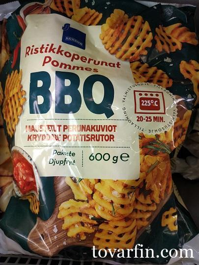 Rainbow Крискаты картофельные BBQ 600г
