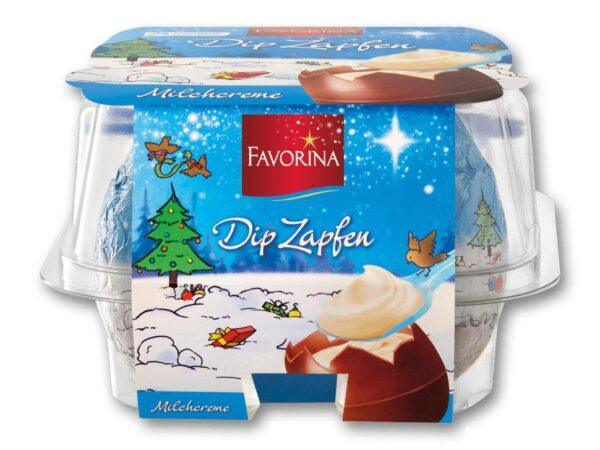 Шоколадные яйца с молочным кремом FAVORINA 144 г