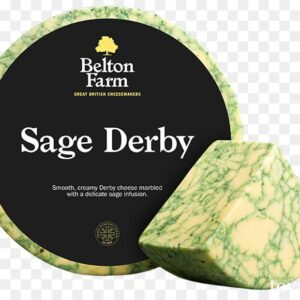 Сыр Дерби с шалфеем Sage Derby (Belton Farm)