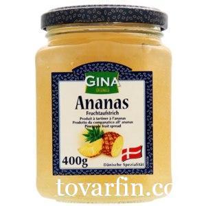 Варенье Gina из ананаса Gina 400 гр