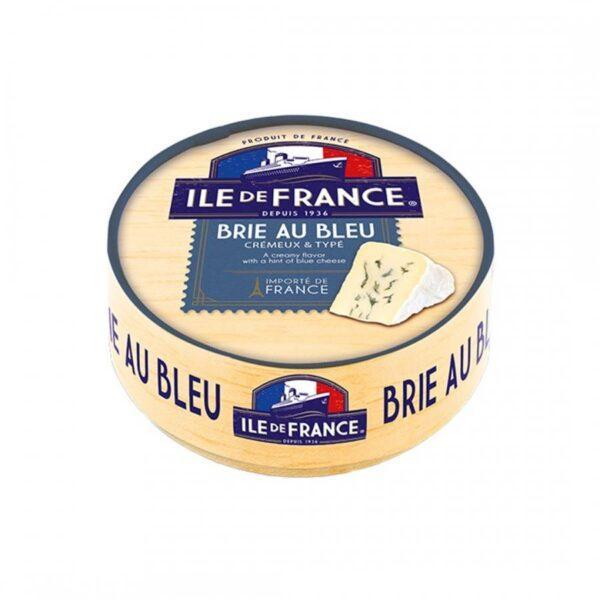 Бри с голубой плесенью Иль де Франс Brie au Bleu Ile de France 125г