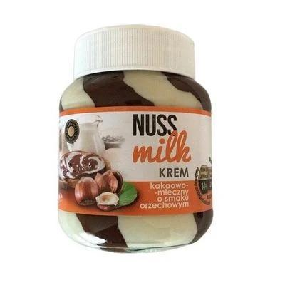 Купить Шоколадно - молочно- ореховая паста Nuss Milk 400гр. Польша
