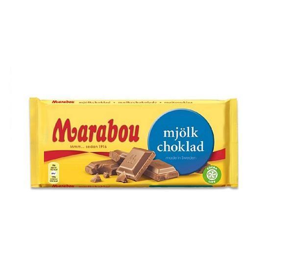 Шоколад Marabou молочный 200 гр