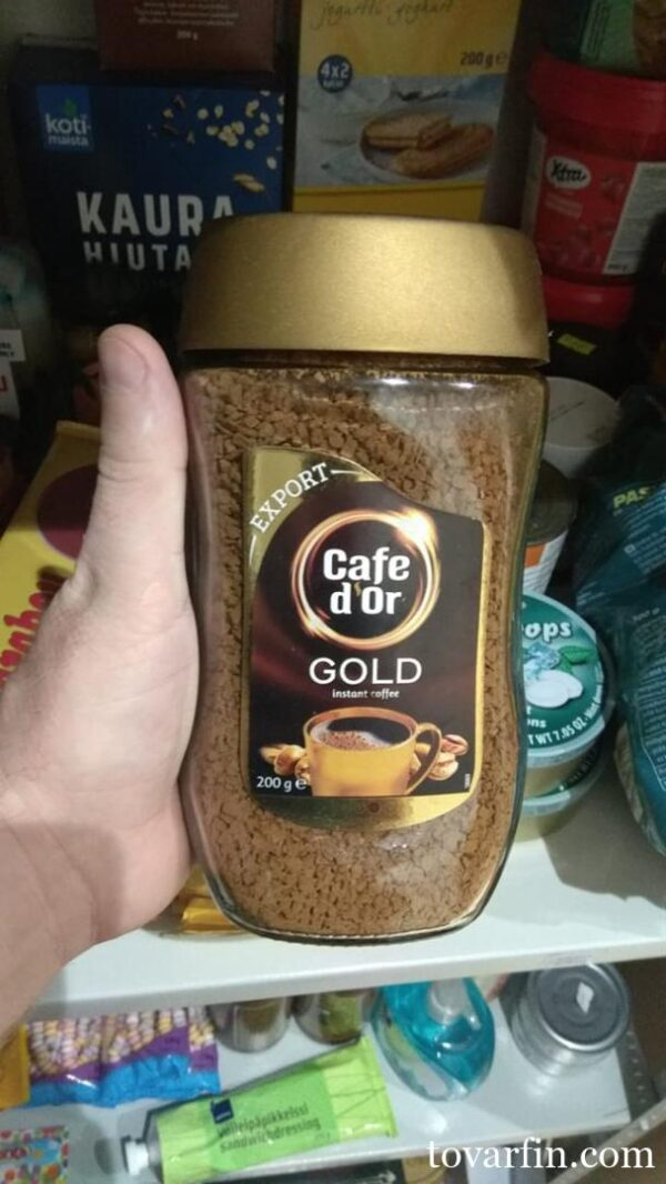 Кофе растворимый Диор Голд Cafe d'Or Gold 200г Польша