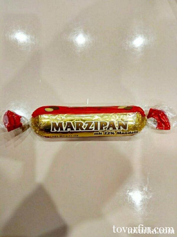 Марципановый батончик в темном шоколаде 175г