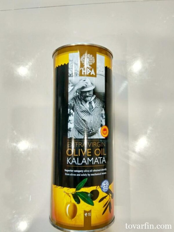 Натуральное оливковое масло HPA Каламата Extra Vergine Olive oil 1л (Греция)