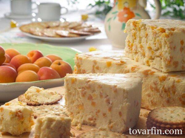 Сыр десертный Stilton Манго Имбирь Цена за 100г