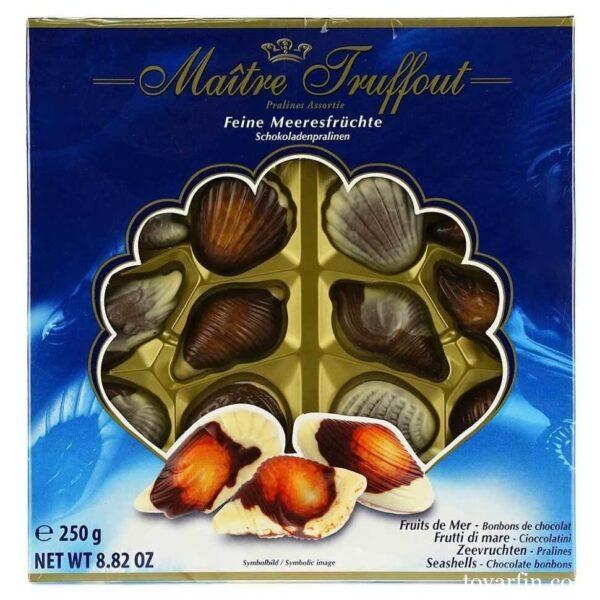 "Шоколадные конфеты ""Ракушки"" Maitre Truffout 250гр"