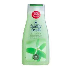 Гель для душа - Шампунь Family Fresh Aloe Vera - 500 мл