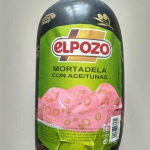 Колбаса Мортаделла с оливками Elpozo Испания Цена за 100г