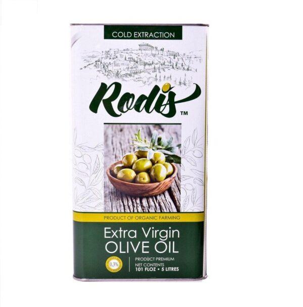 Оливковое масло для салатов Extra Virgin Rodis 1л Греция