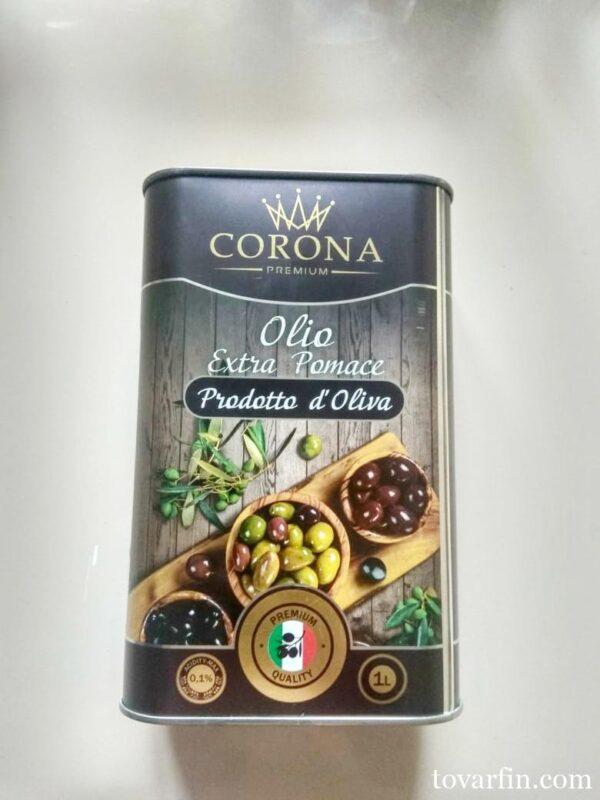Оливковое масло для жарки Pomace 1 л Италия
